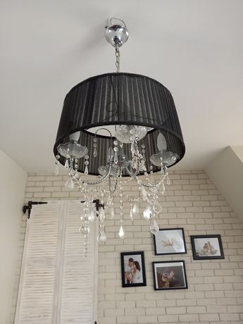 Lampa sufitowa i dwie do kompletu