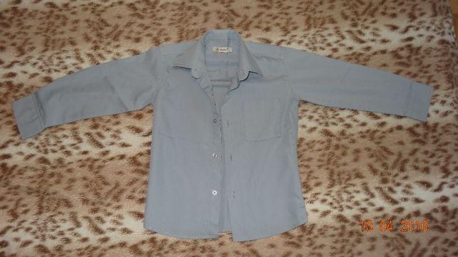 Рубашка для мальчика 7-8 лет школьная