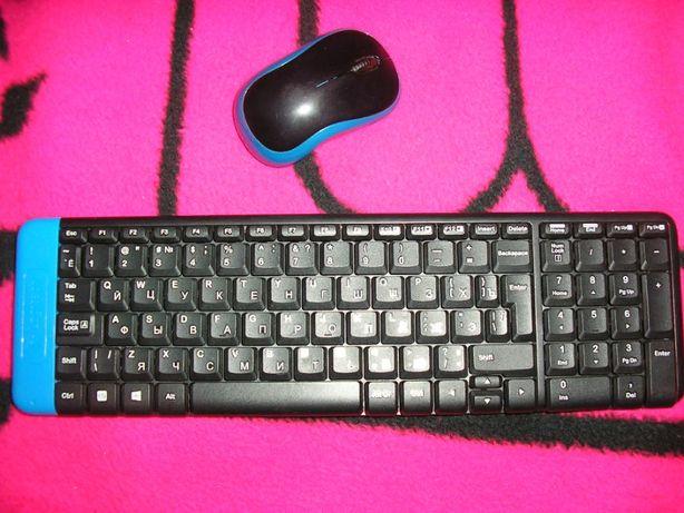 продам клавиатуру и мышь logitech