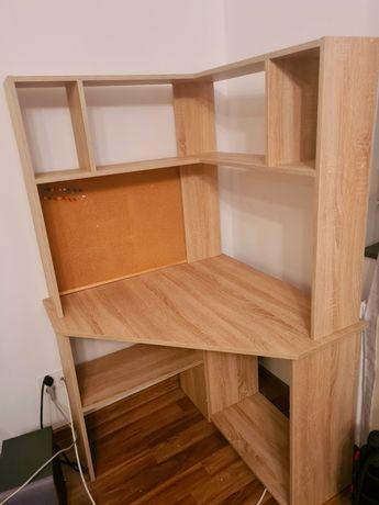 Biurko z tablicą korkową - jak nowe