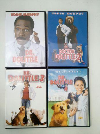 DVD: Dr. Dolittle 1,2,3,4