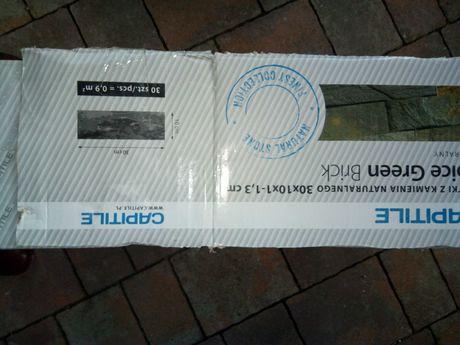Nowa cena. Płytki ścienne 30x10x1-1,3 cm z naturalnego kwarcytu.