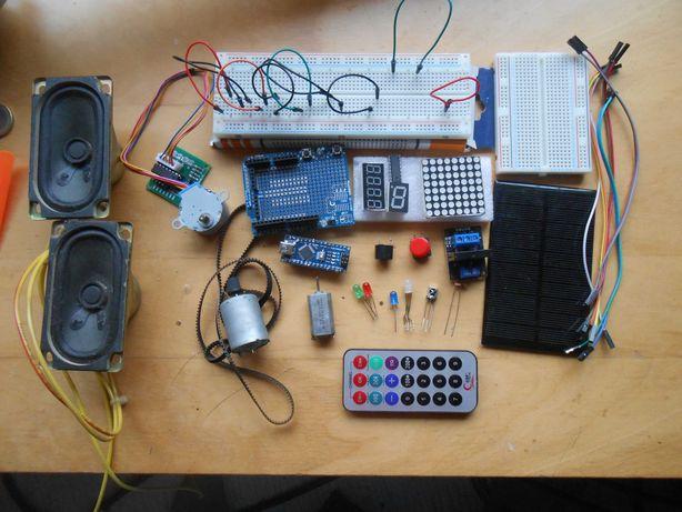 Conjunto Arduíno nano eletrónica 24 pcs