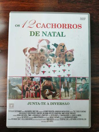 DVD Os 12 Cachorros de Natal