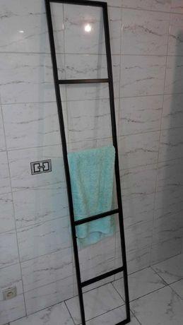 Wieszak na ubrania łazienkowy Krzesło Hoker Loft