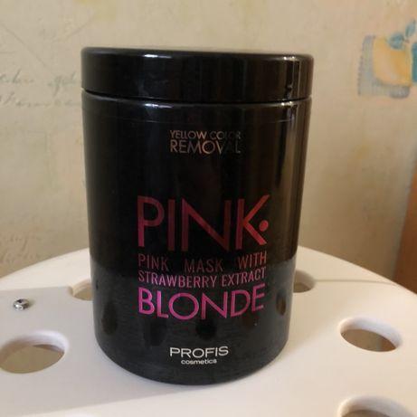 Маска для волос. Розовая