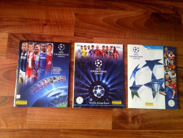Panini Champions League - 3 альбома. Панини. Оригиналы.