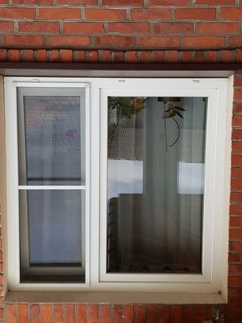 Okna plastikowe PCV z demontażu , ostatnie 2 okna