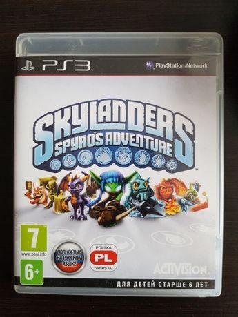 Skylanders łącznie z portalem i figurami PS 3
