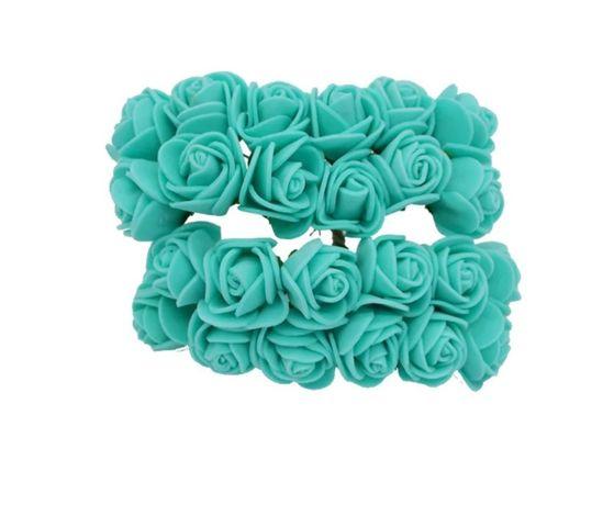 Набор 144 шт розы розочки из фоамирана для Мишек троянди