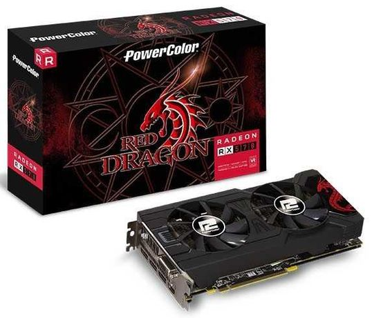PowerColor RX570 Red Dragon