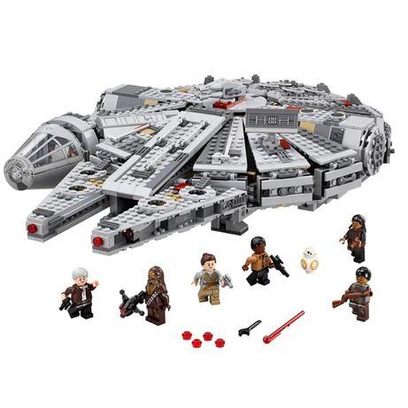 Klocki kompatybilne z LEGO STAR WARS Sokół Millennium 75257, 79211