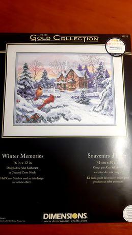 Dimensions 35155 Winter Memories