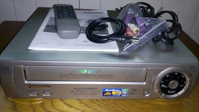 ВИДЕОПЛЕЙЕР Panasonic NV-SJ5AM (Япония) + Видеокассета чистящая.