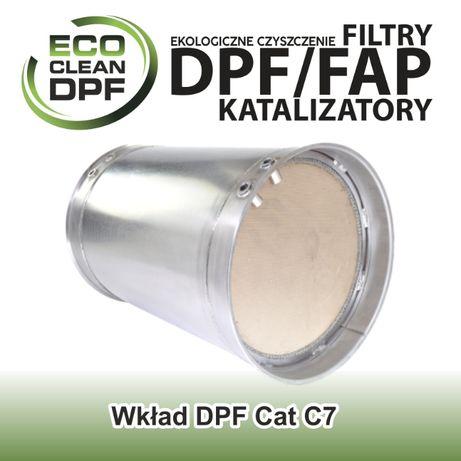 Filtr cząstek stałych wkład DPF do maszyn Caterpillar z silnikiem C7