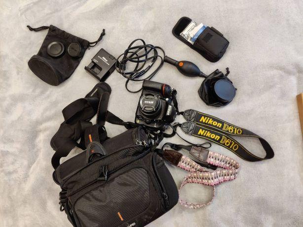 Nikon D610 c объективом Nikkor 50mm f/1.8 Пробег 981 фото