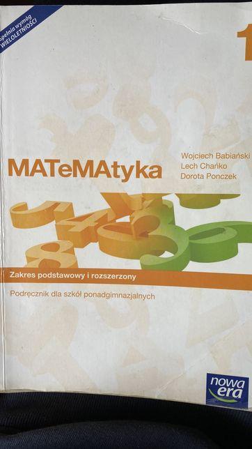 MATeMAtyka 1, podręcznik, zakres podstawowy i rozszerzony