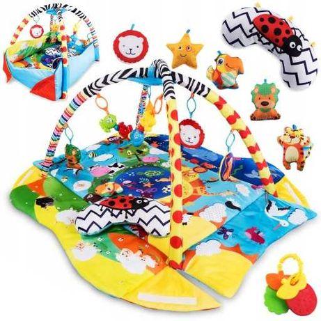 Mata edukacyjna i zestaw zabawek
