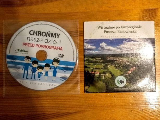 Płyta CD: Chrońmy nasze dzieci przed pornografią.