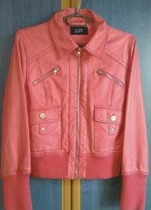 куртка  бренд LIV кожзам