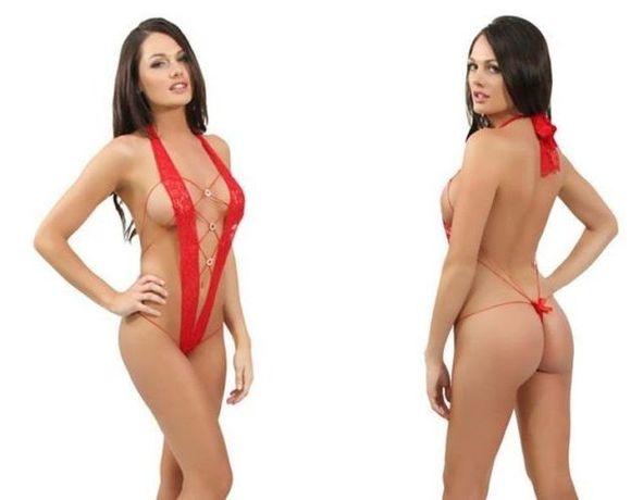 #259 Seksowne BODY + STRINGI - Uniwersalny S/L