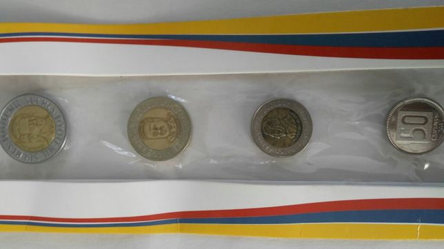 Монеты Эквадор