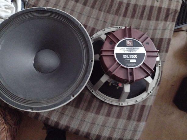 Głośniki EV Dl15X estradowe