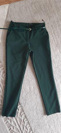 Spodnie chinosy,  butelkowa zieleń 36
