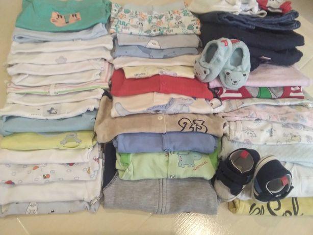Ubranka,wyprawka dla dziecka 0-12 miesięcy,unisex