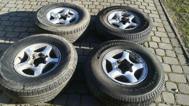 "Felgi 15"" alu 6x139,7 Nissan Toyota Opel Hyundai Mitsubishi Kia"