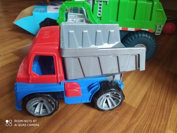 Грузовик Lena, мусоровоз, игрушка каталка