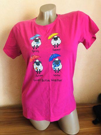 Яркая футболка 46 - 48