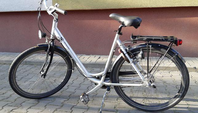 Rower damka aluminiowy 28 cali