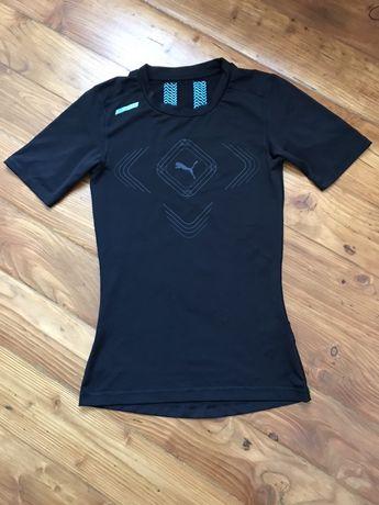 Koszulka czarna sportowa Puma rozmiar S