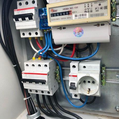 Послуги професійного електрика, електромонтажника