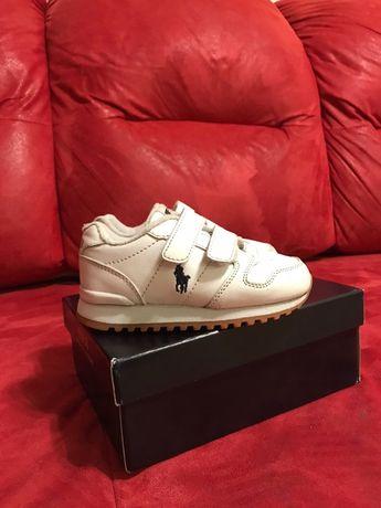 Продам кожаные детские кроссовки Ralph Lauren в размере EUR 24(15.9см)