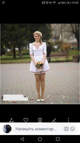 """Вишите плаття ( вишита заготовка) """"Карпатська лілія"""""""