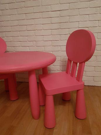 Stolik + 2 krzesła