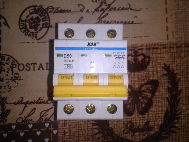 Автоматичний вимикач, автомат, автоматический выключатель ва47-29 5ОА