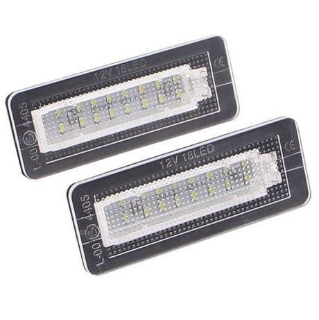 Par luz de matricula LED SMART ForTwo Cabrio Coupe W450 W451 [NOVO]
