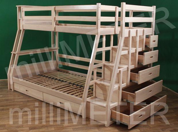 кровать двухъярусная София, детская двухъярусная кровать