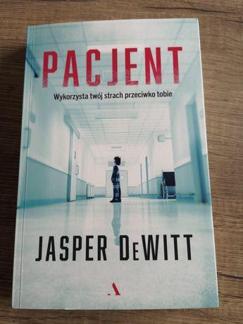 Książka Pacjent Jasper DeWitt