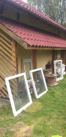 okna używane 100x120