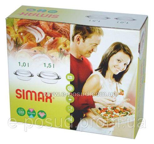 Разпродажа новая Стеклянная посуда Simax 4 предмета.