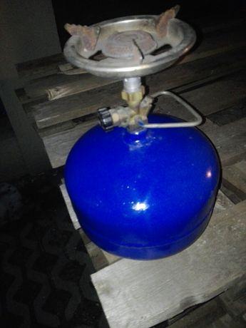 Butla turystyczna z gazem