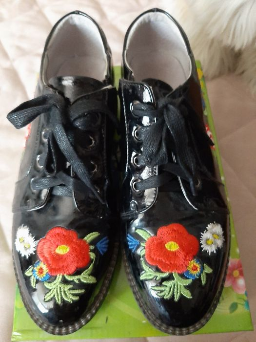 Туфли ботинки подростковые 37 Кропивницкий - изображение 1