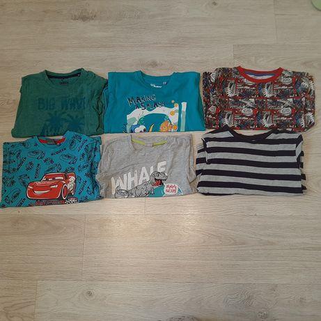 Zestaw koszulek/t-shirt dla chłopca 110-116