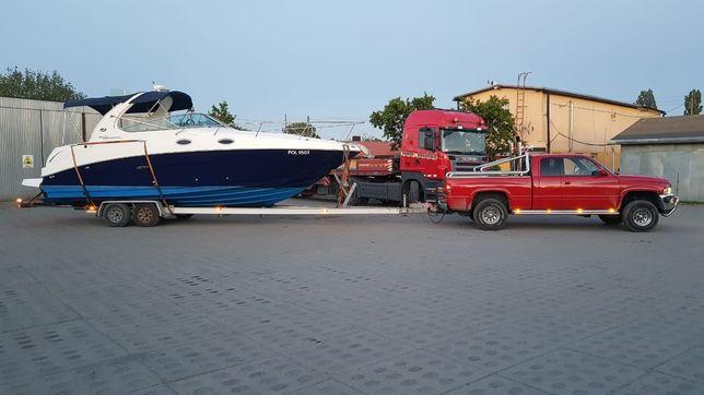Transport łodzi , jachtów