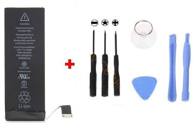  Bateria Iphone + Ferramentas SELADA