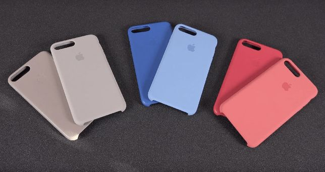 Чехол айфон Silicon silicone case iphone 7 7+ 8 8+ X Xs xr 11 pro max
